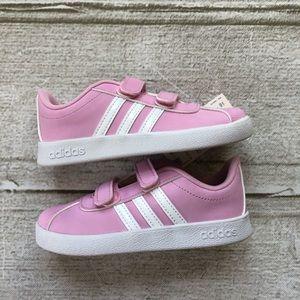 Pink Adidas Toddler Sneakers Size 10 Girls